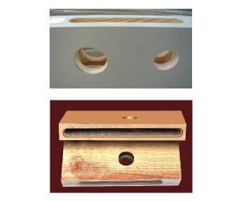门窗锁孔机生产样品